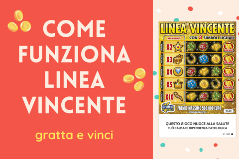 Come funziona Linea Vincente gratta e vinci