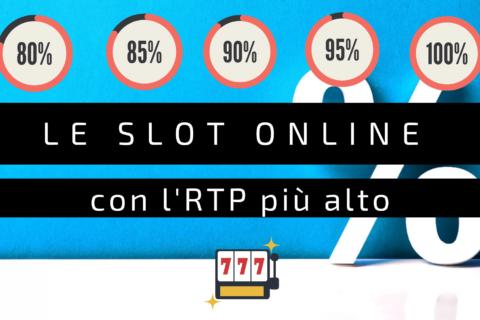 Le slot online con la piu alta percentuale di pagamento