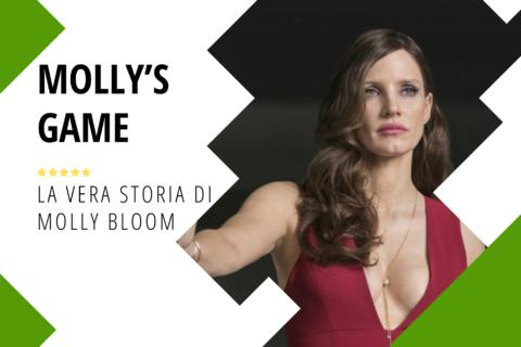 Mollys Game la vera storia di Molly Bloom