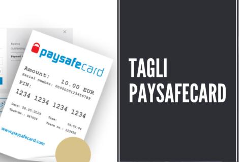 Tagli Paysafecard