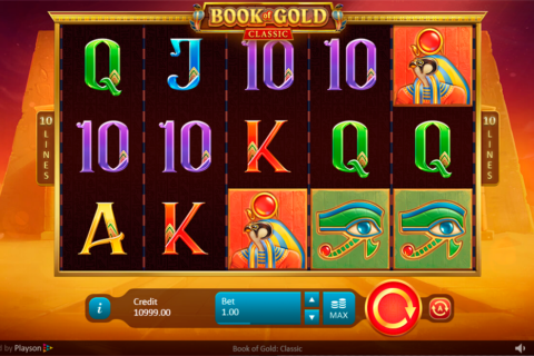 book of gold classic playson