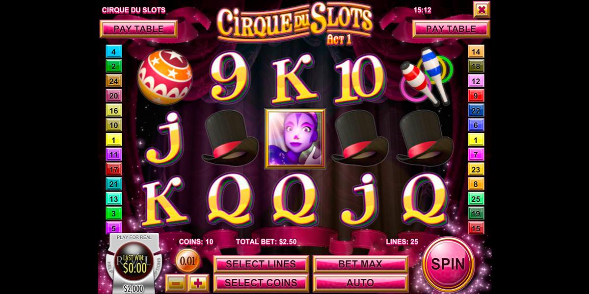 cirque du slots rival