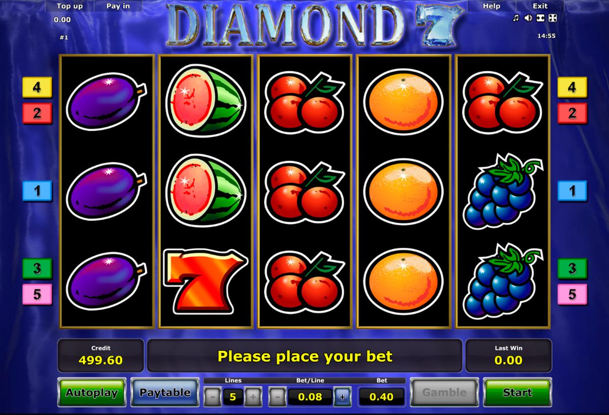diamond 7 novomatic