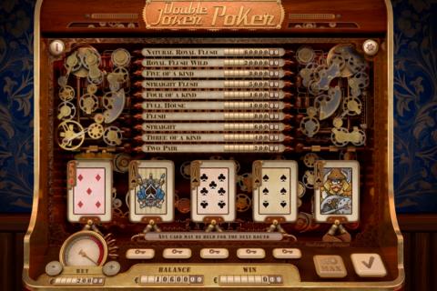 double joker poker playson
