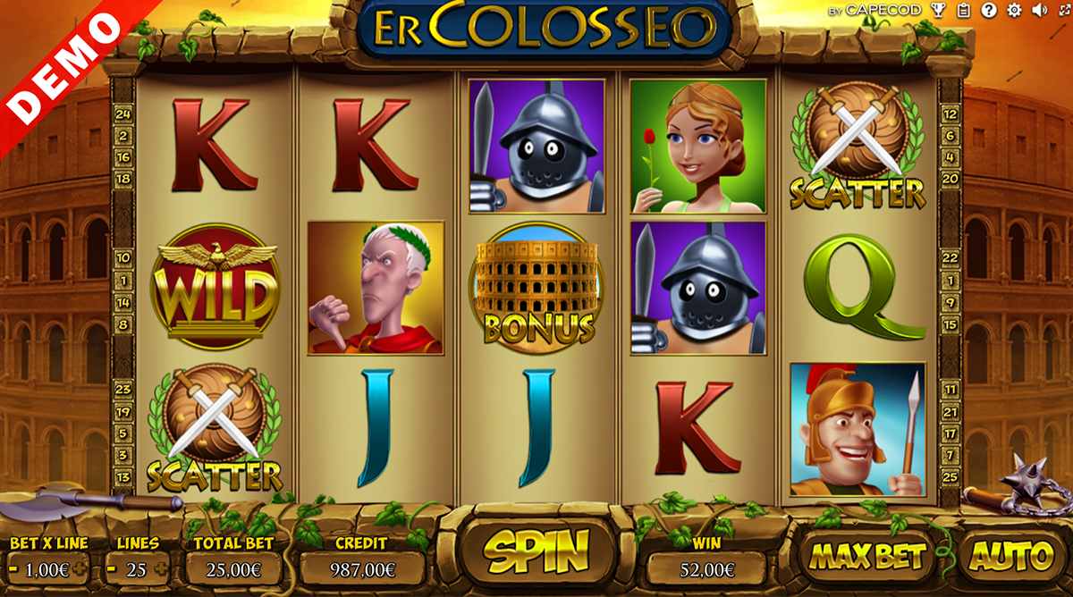 er colosseo capecod gaming