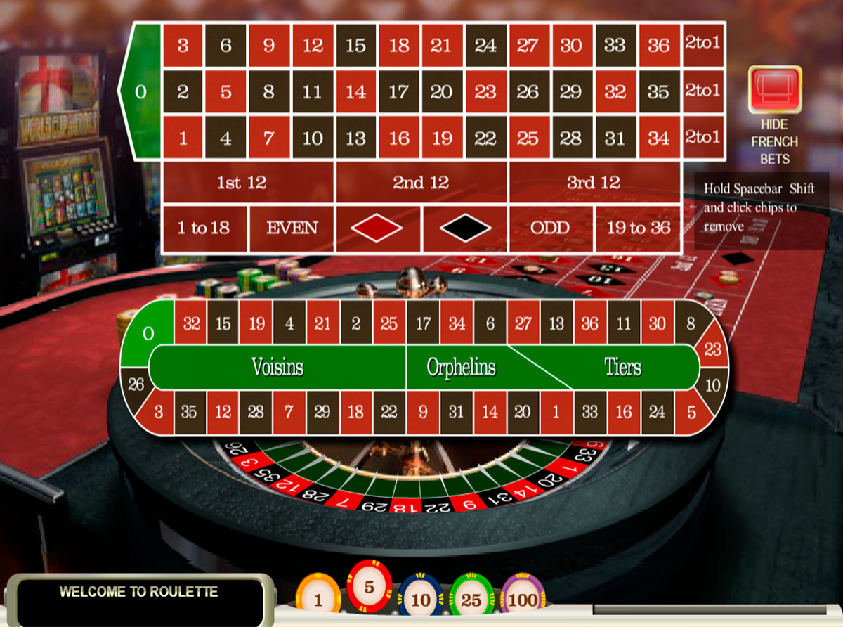 french roulette openbet