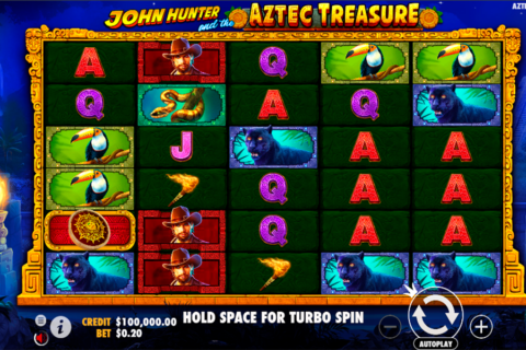 john hunter and the aztec treasure pragmatic