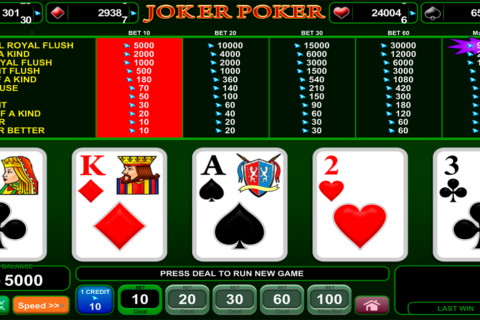joker poker egt