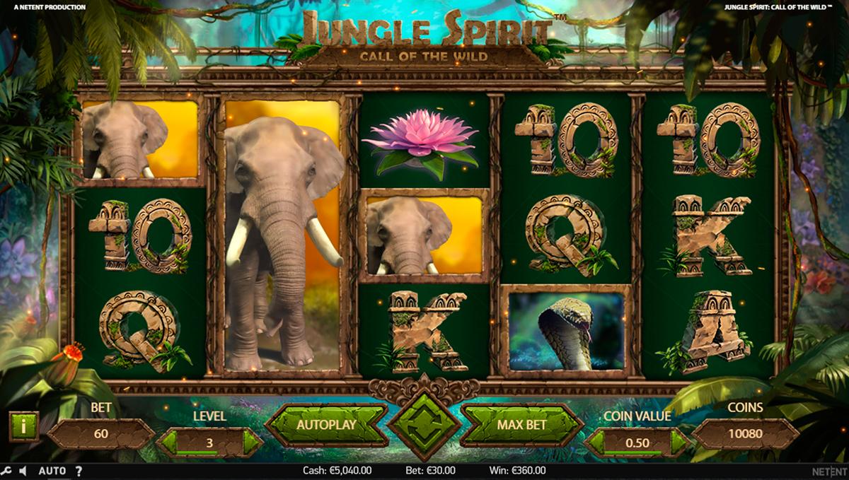 jungle spirit call of the wild netent