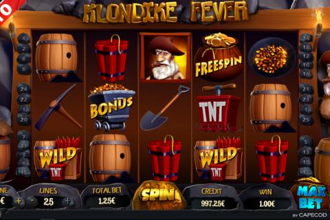 klondike fever capecod gaming