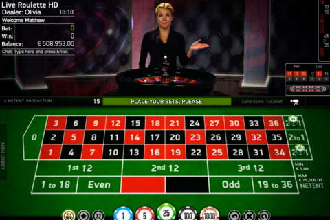 live roulette netent