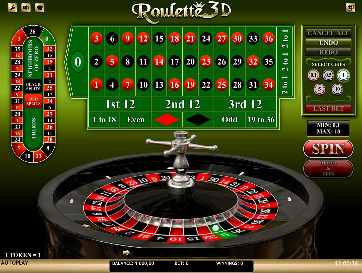 roulette 3d isoftbet