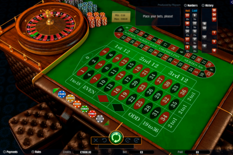roulette with track playson