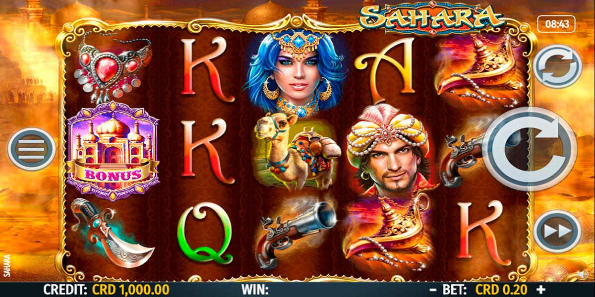 sahara octavian gaming