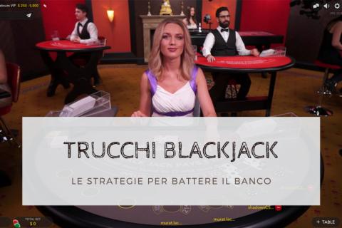 trucchi e segreti blackjack